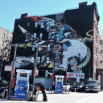 Huge bird mural at 155th and Broadway JW
