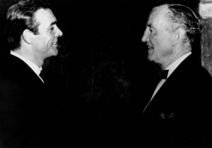 Fleming and Connery
