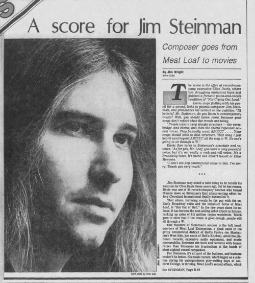 Jim Steinman intervi