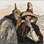 Zimmermann Code political cartoon